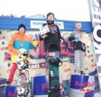 casper 1e halfpipe podium